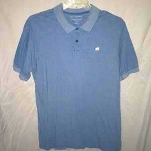 🆕 Banana republic blue knit polo